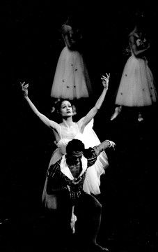 Dancers Andrea Boardman & Rey Dizon in Giselle in 1987