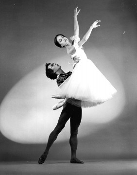 Dancers Andrea Boardman & Rey Dizon in Giselle in 1984