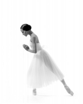 Dancer Andrea Boardman in Giselle in 1990