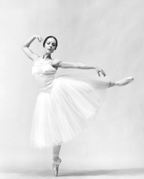 Dancer Sonia Vartanian in Giselle