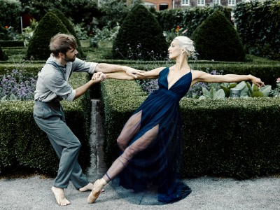 Eline and Raphaël embody the main characters of the ballet Lady Chatterley's Lover