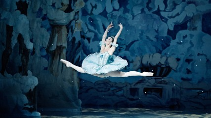 Ballerina in The Nutcracker