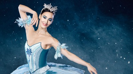 Myriam Simon is The Snow Queen in The Nutcracker