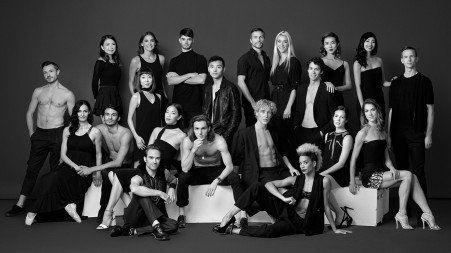 Grands Ballets dancers, season 2017-2018