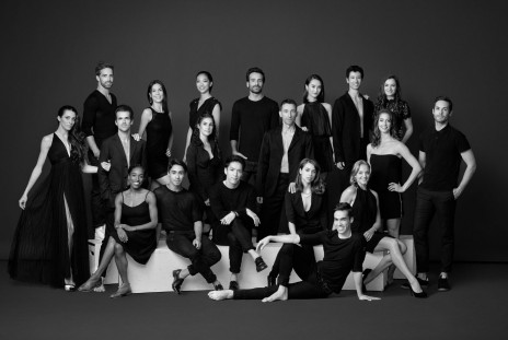 Grands Ballets dancers, 2017-2018 season
