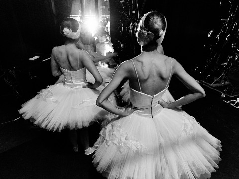 Swan Lake's behind-the-scene photo
