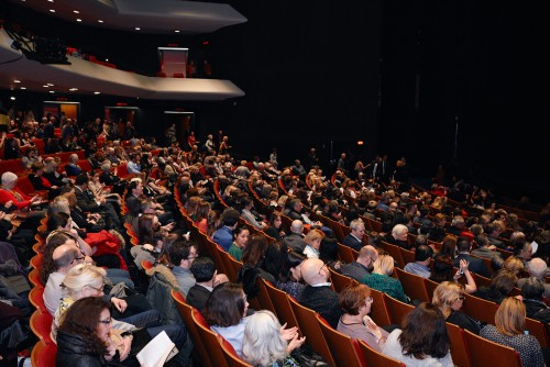 Guests in theatre season launch