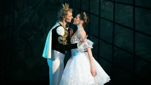 The Prince and Cinderella, performed by two dancers at the National Ballet of Ukraine
