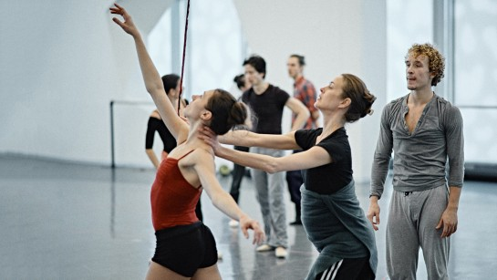 Bridget Breiner creates in Les Grands Ballets' studios
