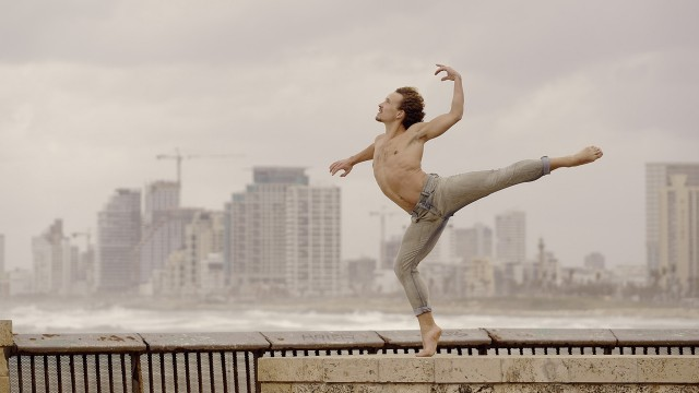 Our dancer Célestin Boutin in Tel Aviv