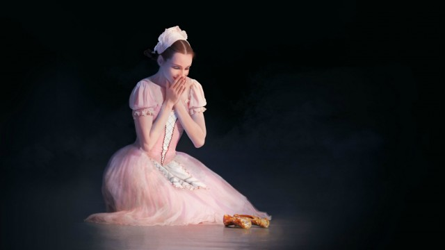 Poster for the ballet Cinderella by the National Ballet of Ukraine