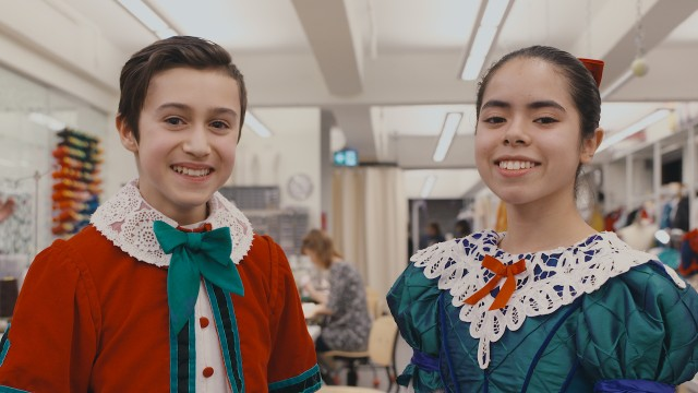 Interview with Rafaela Léon Alvarez and Nathaniel Santos, our Clara and Fritz from our 2017 Nutcracker's cast.