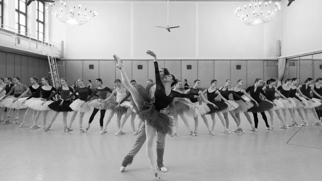 National Polish Ballet in rehearsal