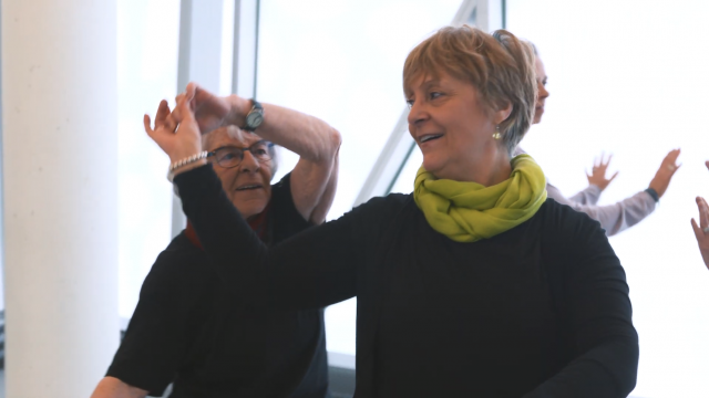 Participants in Dance Therapy for Adults: 50 years + classes
